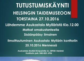 Helsingin taidemuseoon tutustumiskäynti